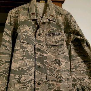 Jackets & Blazers - AIR-FORCE MILITARY CAMO JACKET / AIR-FORCE JACKET